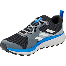 adidas TERREX Two Zapatillas Trail Running Hombre, core black/grey one/glory blue